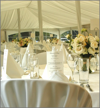 Table settings Marquee