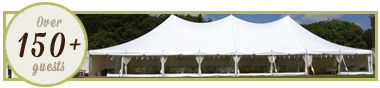 Marquee Hire 150plus guests