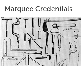 Marquee credentials corporate hire